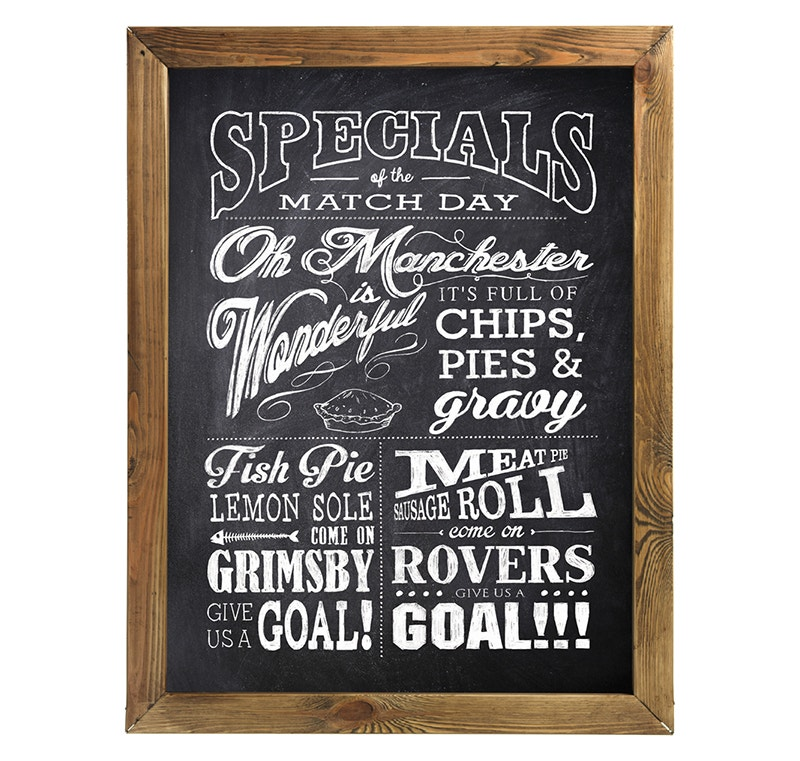 chalkboard poster free download