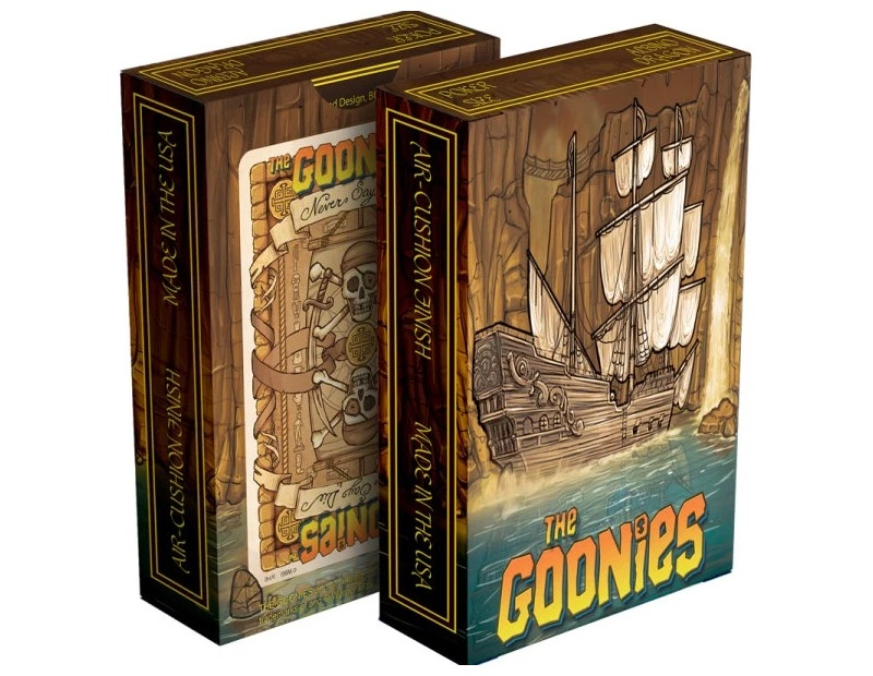 Goonies Playing Card Design