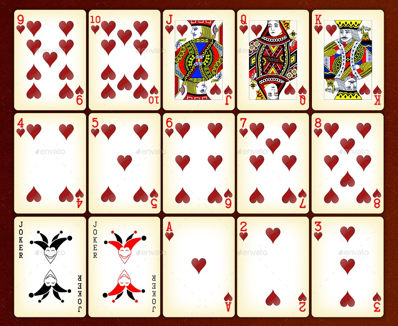 Blackjack card patterns