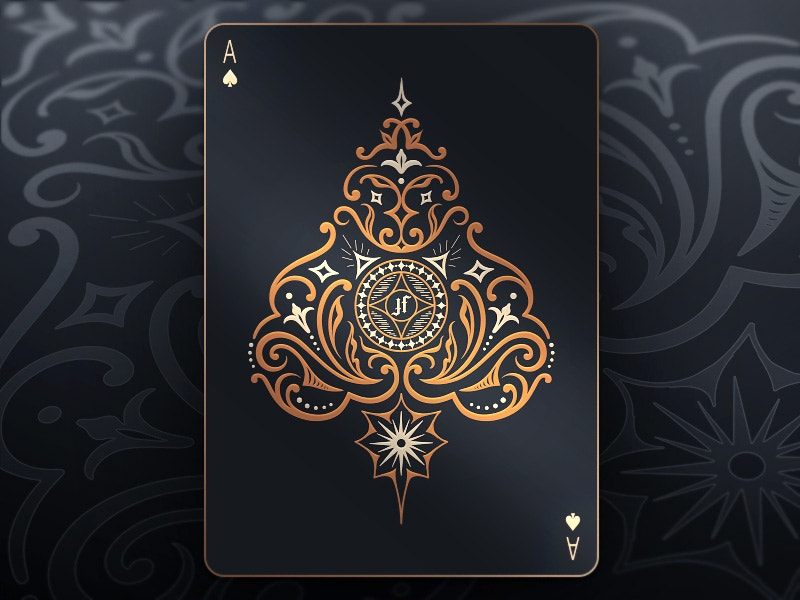 Beautiful Playing Card Design