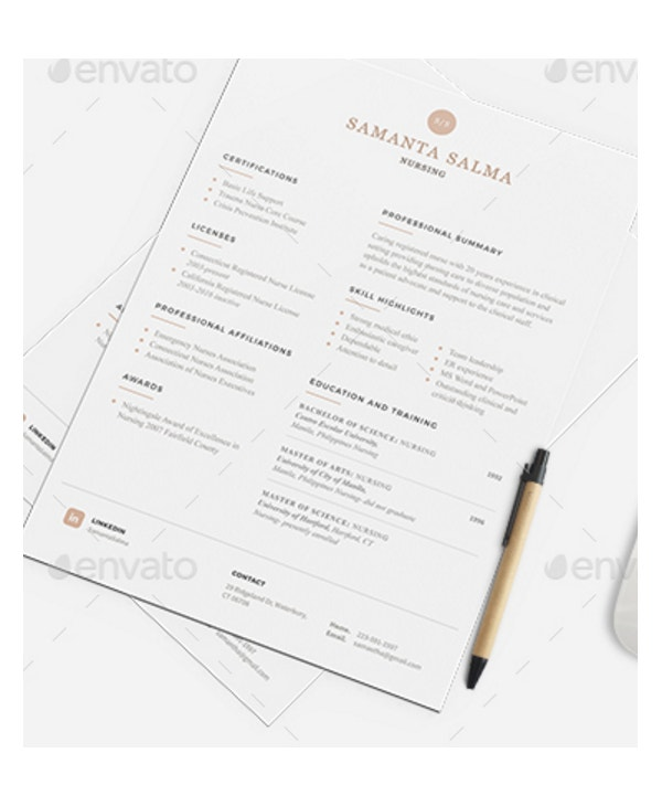 certified nurse resume