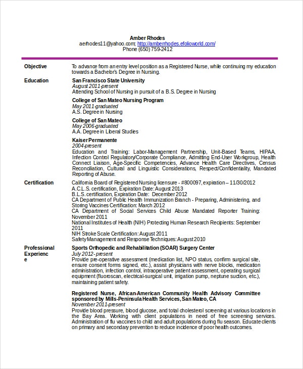 telemetry-nurse-resume-free-download