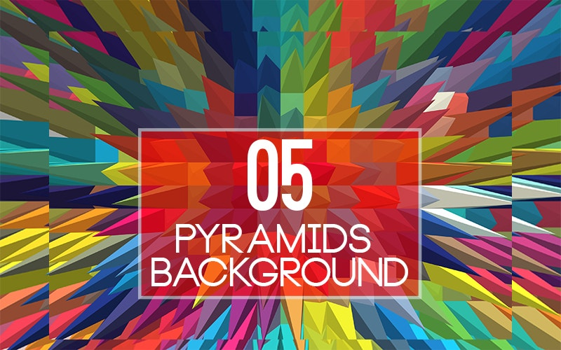 5 Pyramids Backgrounds