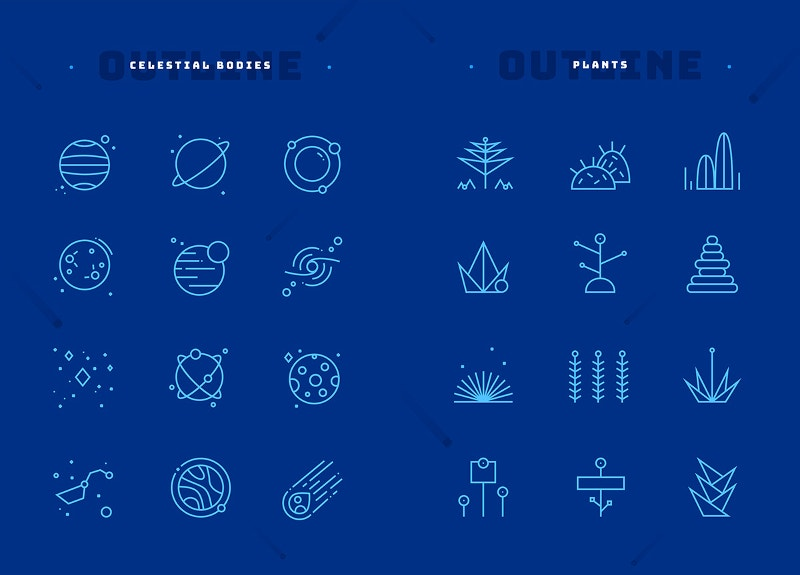 36 Free Space Icons