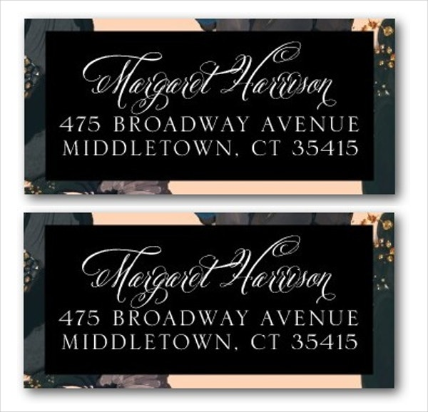 Avery Address Label Template