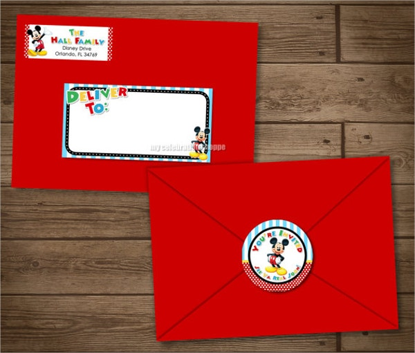 Address Label Envelope