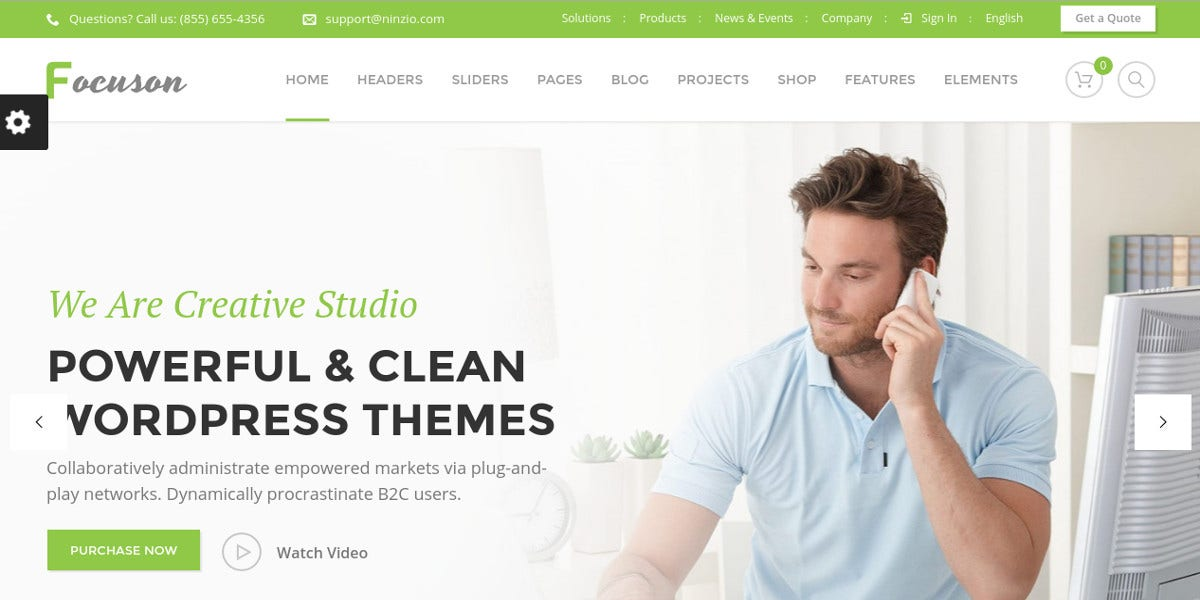 Wordpress business website templates gallery business cards ideas 15 business website themes templates free premium templates multipurpose business wordpress website theme 59 cidgeperu gallery accmission Images