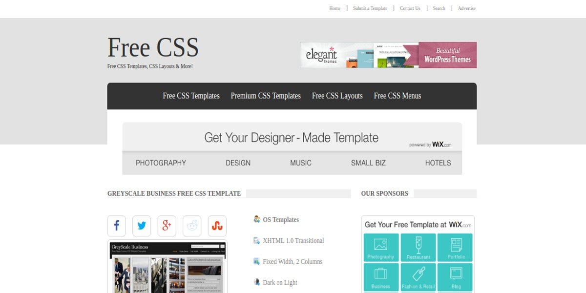 15 business website themes templates free premium templates business free css website template wajeb Choice Image