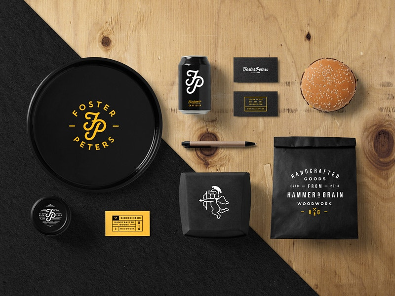 Restaurant Stationery Mock-Up Free