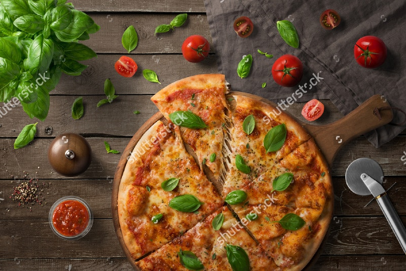 Pizza Restaurant Branding Mockup
