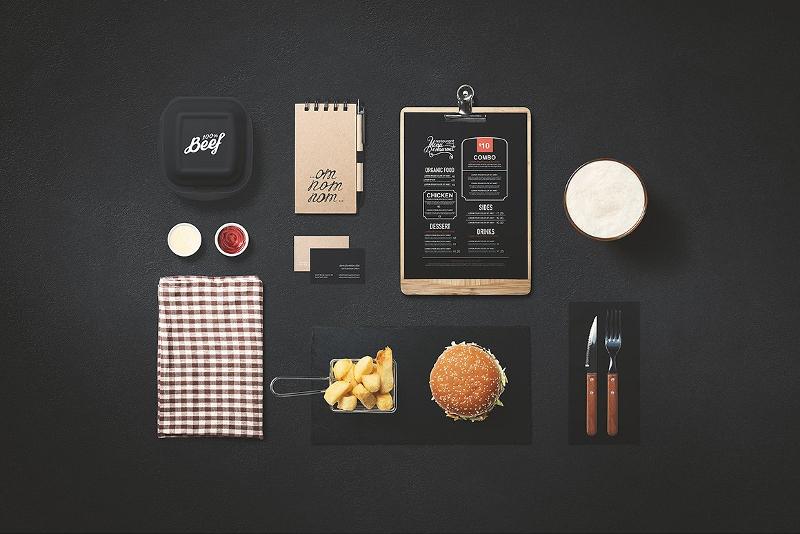 Burger Store Mockup Creator
