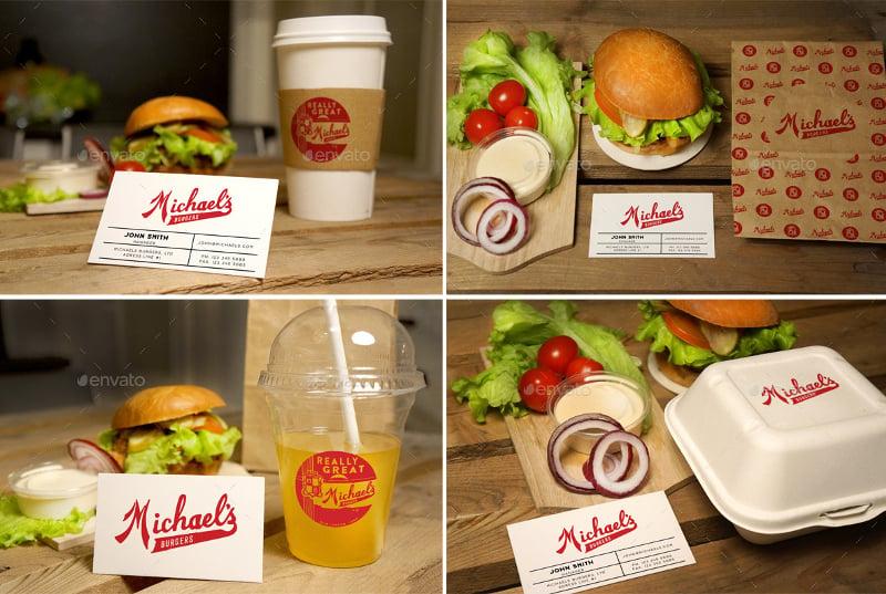Burger Restaurant Mockup