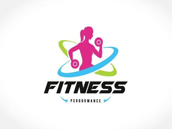 fitness logo for woman