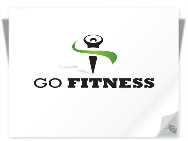 customized fitness logo