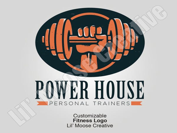 graphic design fitness logo
