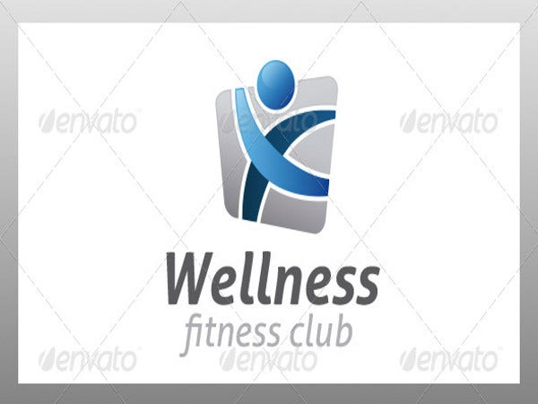 wellness fitness logo