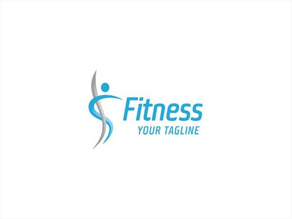 sports fitness logo