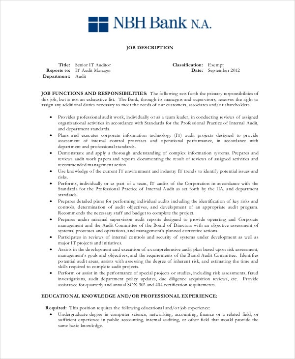 senior-auditor-job-description-free-download