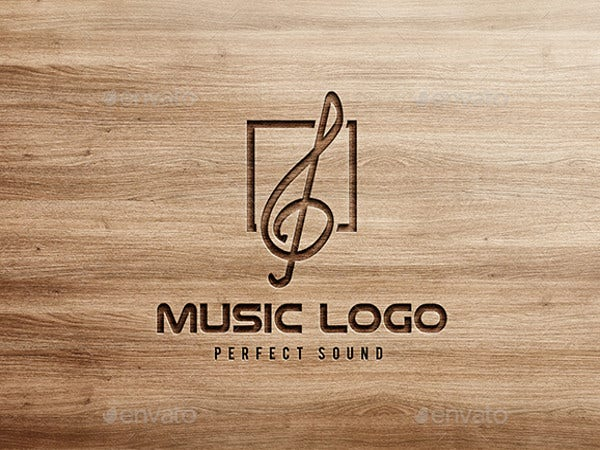 printable music logo template
