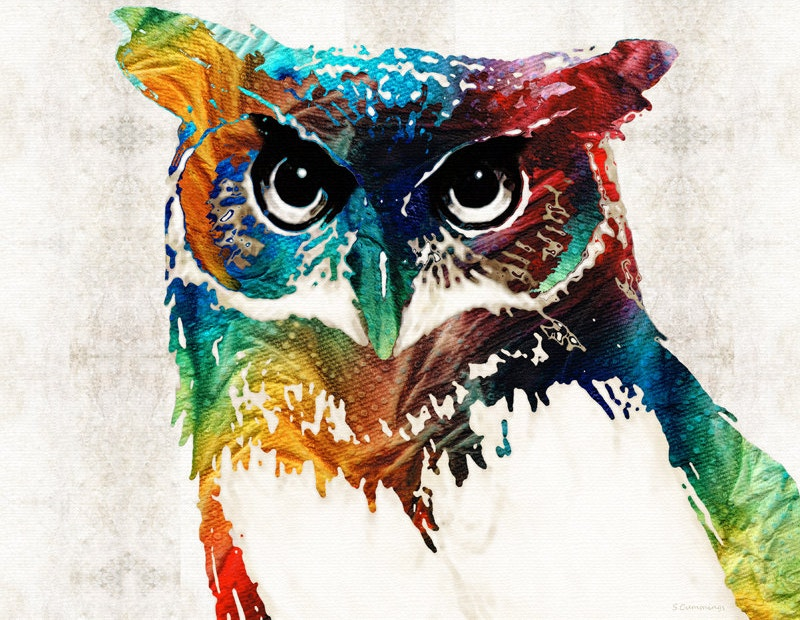 Owl Printing Artworks