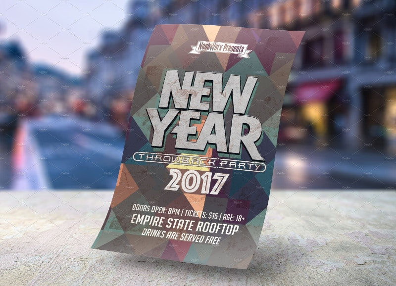 20+ 2017 New Year Flyer Templates | Free & Premium Templates