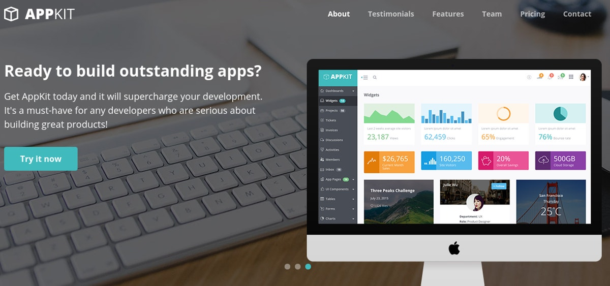 Free HTML5 Bootstrap Theme