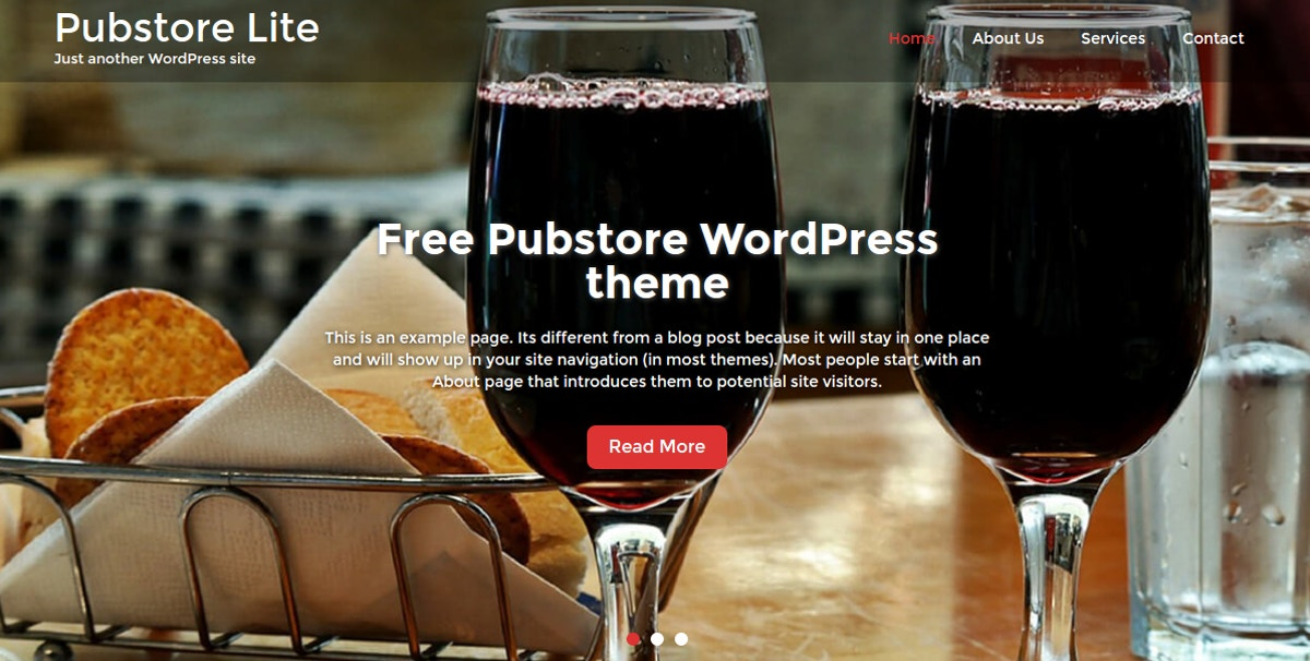 bar and pub store wordpress themes