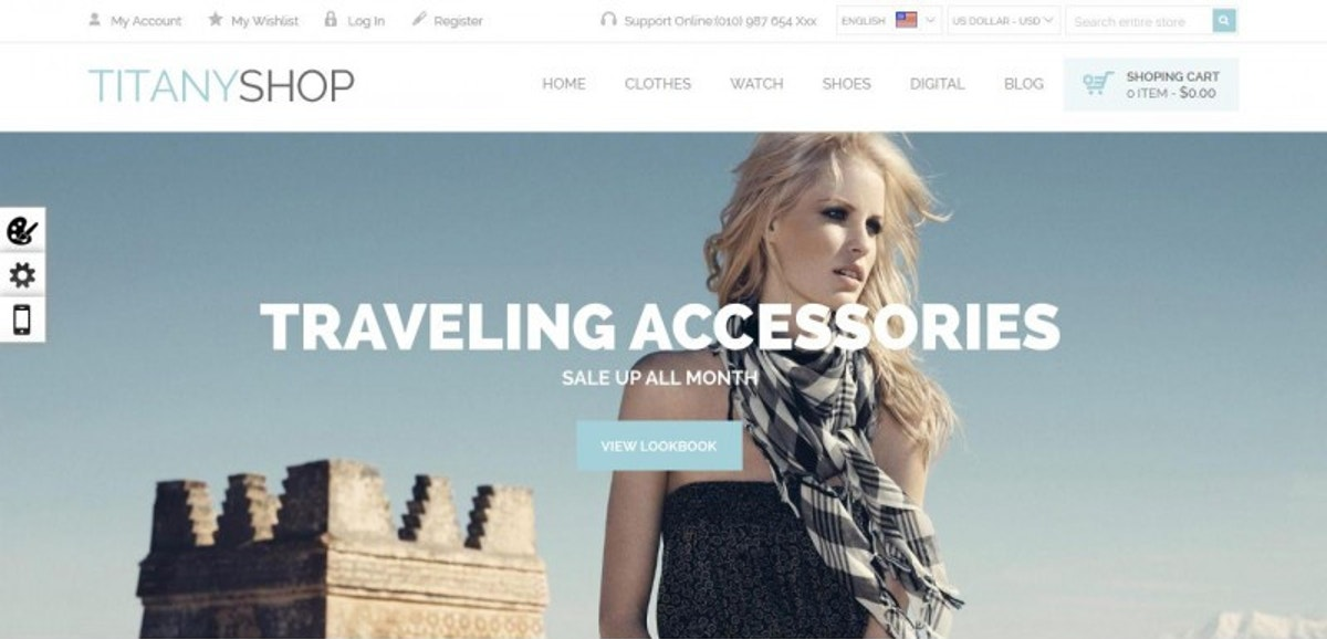 Free Magento WordPress Theme