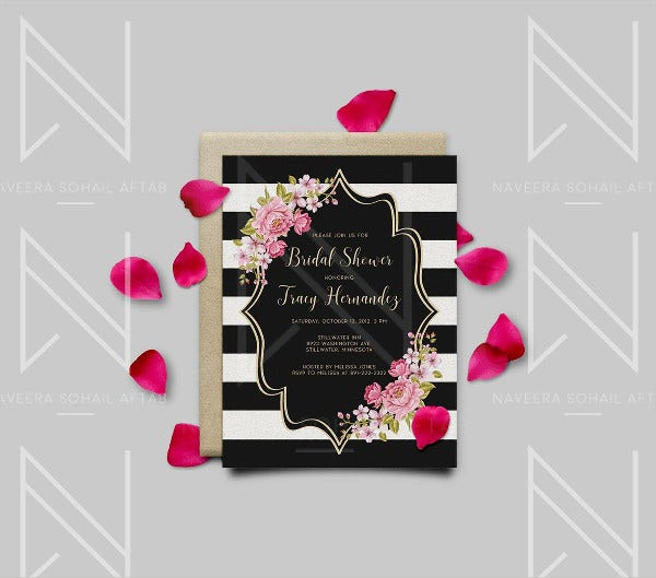 Free Printable Bridal Shower Invitation