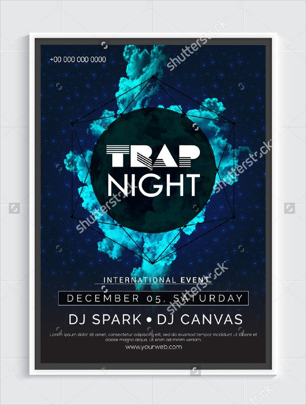 Night Party Flyer Template