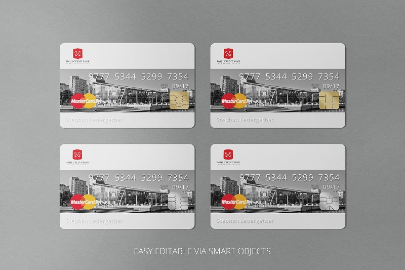 printable letterpress bank card