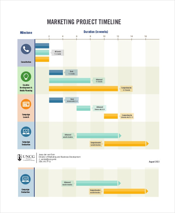 Project Timeline Example   Free Word Pdf Documents Download