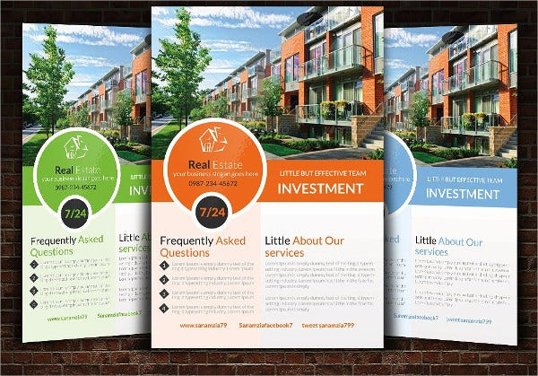 Easy Customizable Real Estate Flyer Template