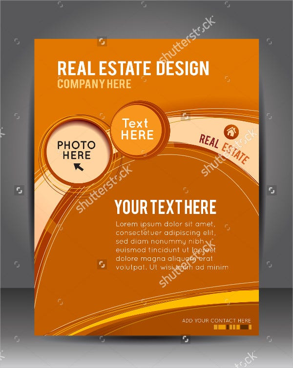 Real Estate Brochure or Flyer Design