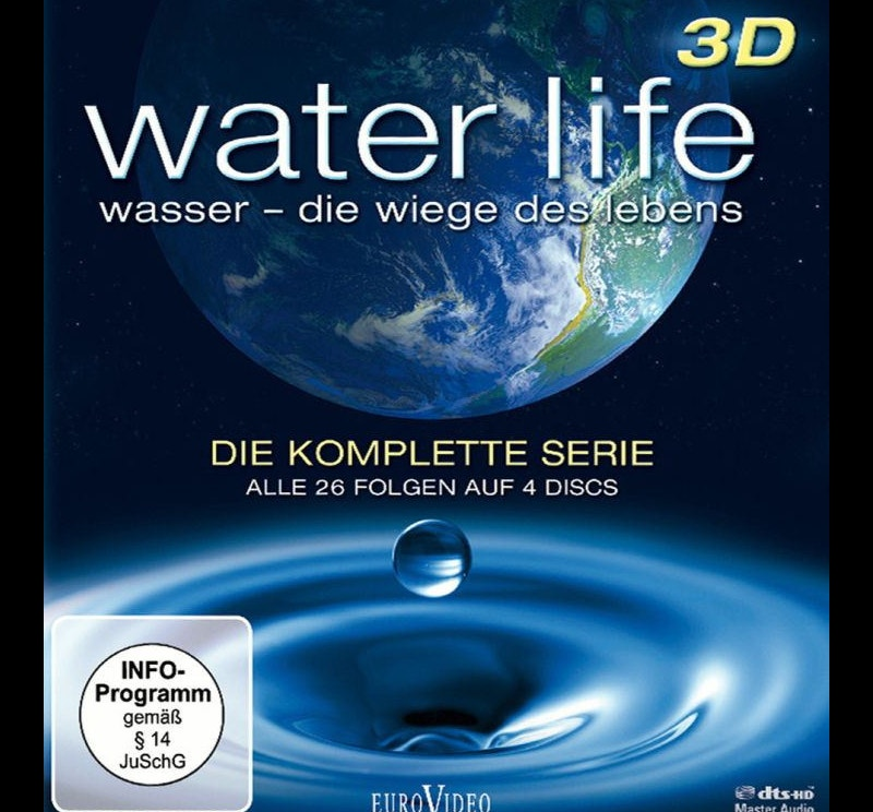 3D Poster Design About Water Life