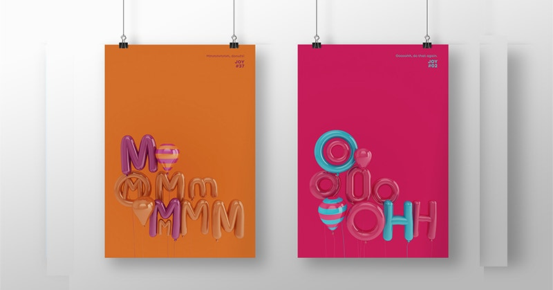 3D Hanging Poster Designs