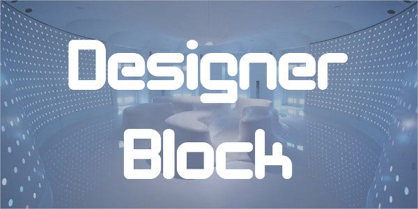 Block Style Fonts Free Download