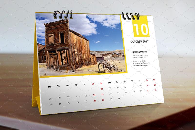 printable 2017 desk calendar