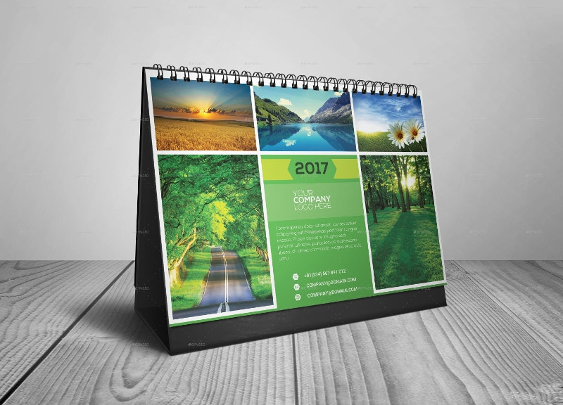 Multipurpose Desk Calendar 2017