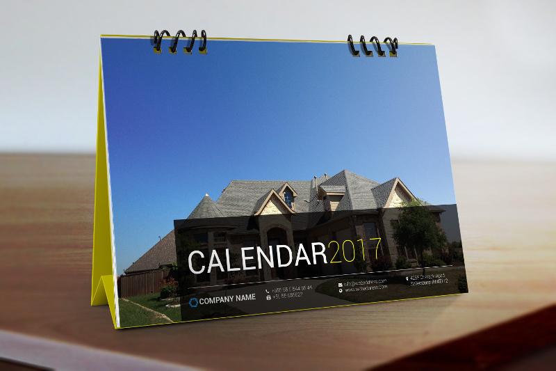2017 Planning Desk Calendar