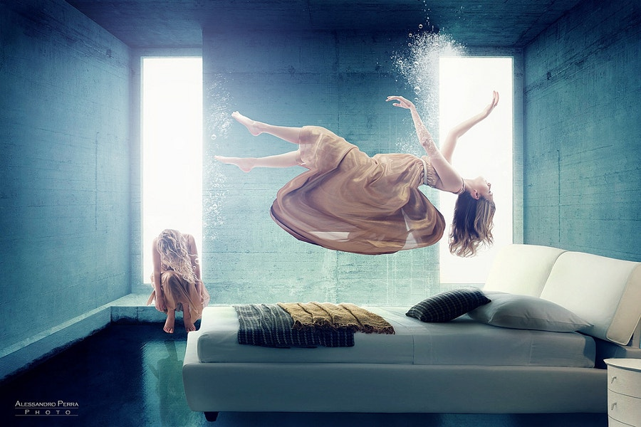 Beautiful Levitation Photography