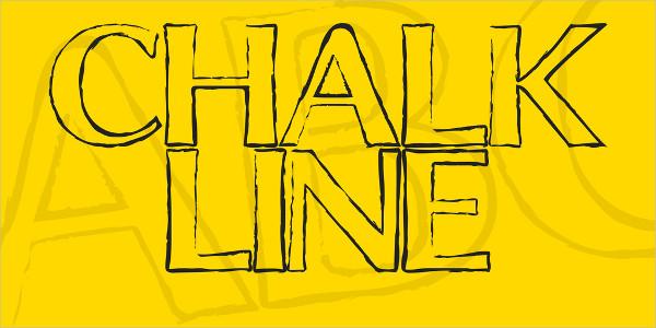 Business Design Chalkboard Font
