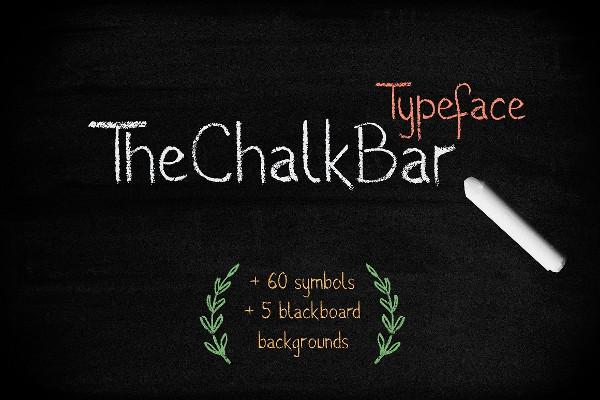 Education Chalkboard Font