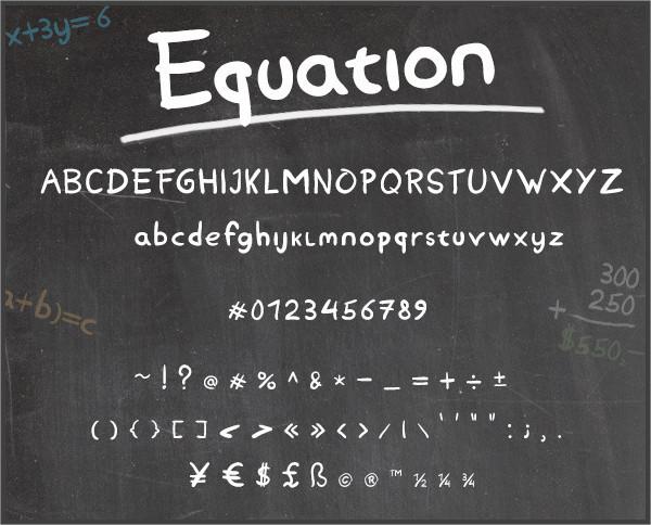 Teacher Chalkboard Font