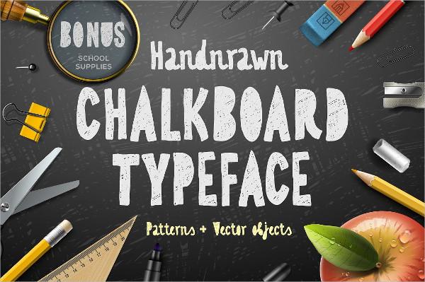 Vintage Chalkboard Font
