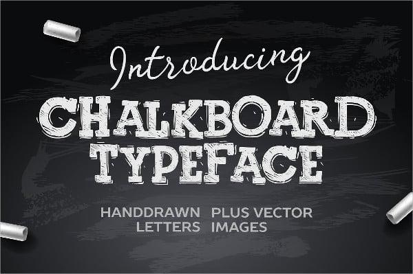 Wedding Chalboard Font