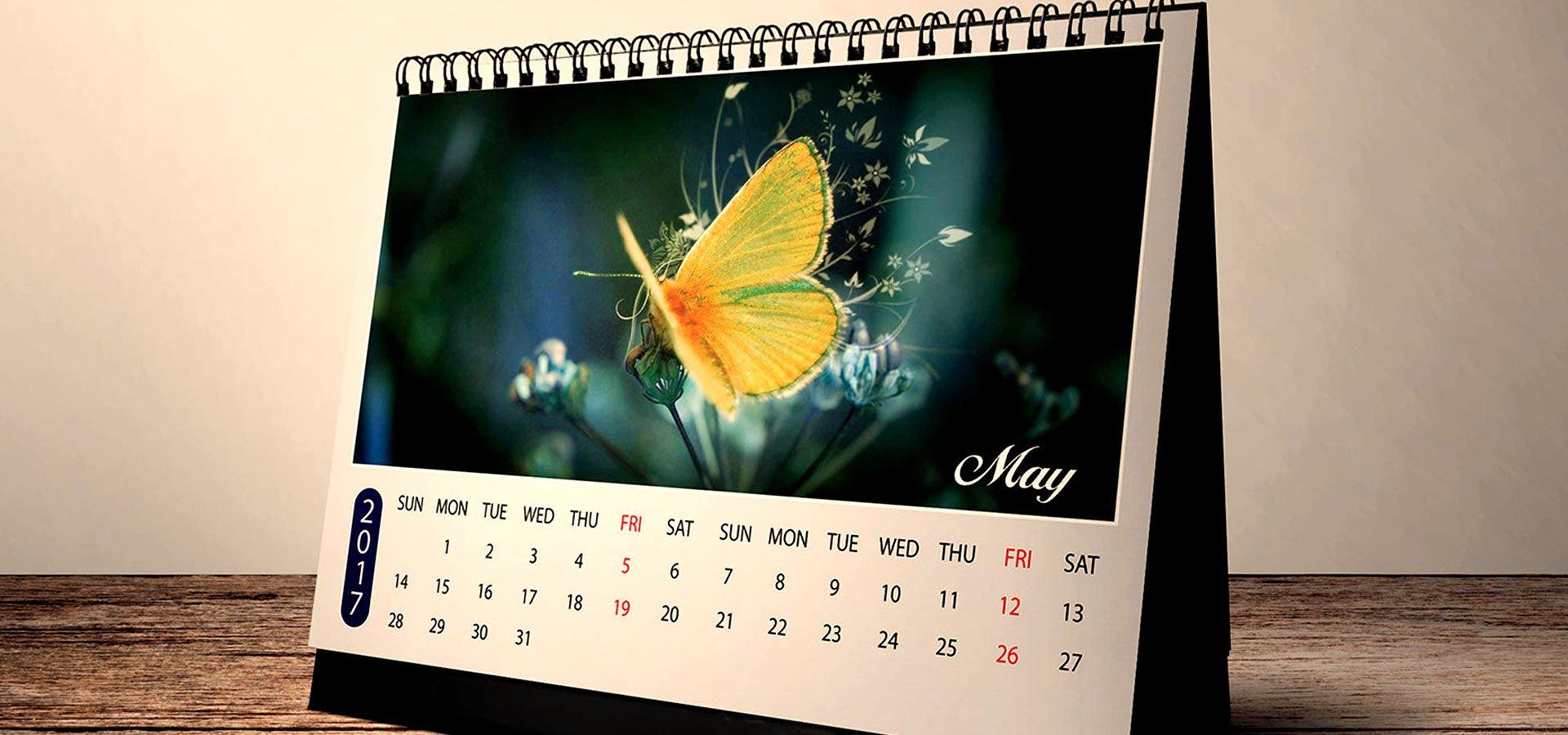 15 2017 Desk Calendar Designs Free Premium Templates