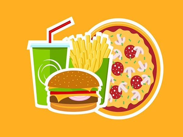 pizza-logo-along-with-fast-food-cafe