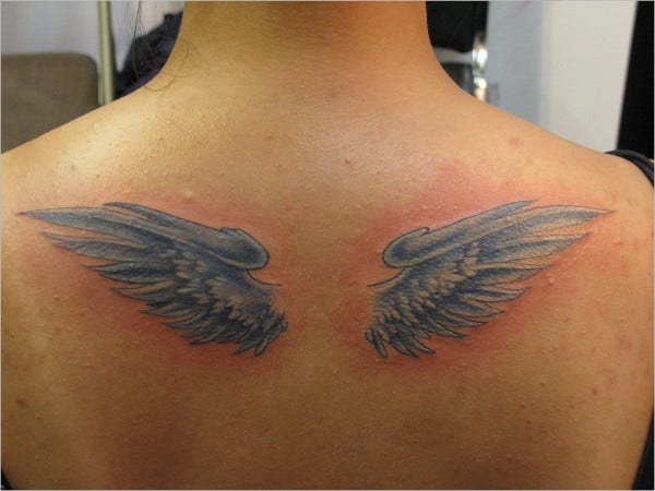Custom Angel Wings