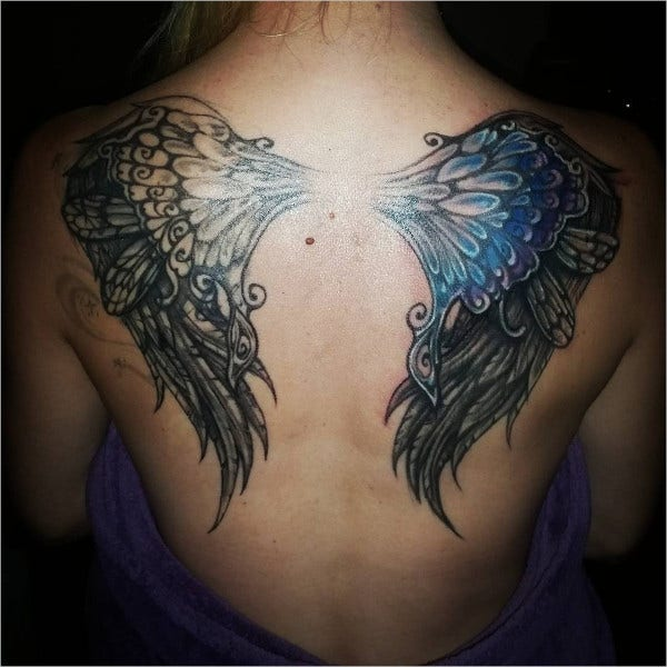 Dragon Fly Wings Tattoo